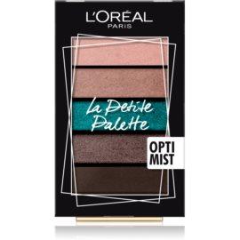 L'Oréal Paris La Petite Palette paleta farduri de ochi culoare Optimist 5 x 0,8 g