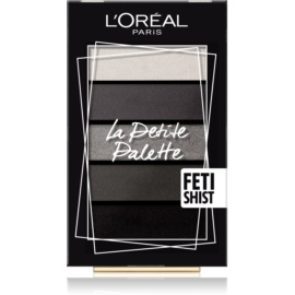 L'Oréal Paris La Petite Palette paleta farduri de ochi culoare Fetish 5 x 0,8 g