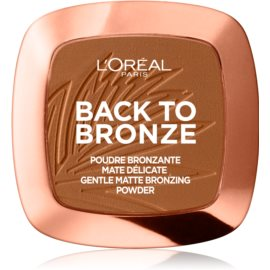 L'Oréal Paris Wake Up & Glow Back to Bronze autobronzant culoare 02 Sunkiss 9 g