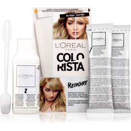 L'Oréal Paris Colorista Remover odbarvovač na vlasy 2 x 15 g + 60 ml
