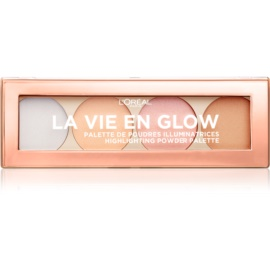 L'Oréal Paris Wake Up & Glow La Vie En Glow IIluminating Palette Shade 02 Cool Glow 5 g