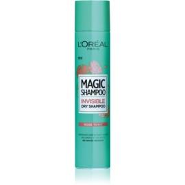 L'Oréal Paris Magic Shampoo Rose Tonic suchý šampón pre objem vlasov, ktorý nezanecháva biele stopy  200 ml