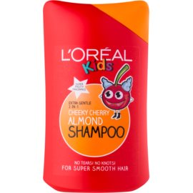L'Oréal Paris Kids shampoo e balsamo 2 in 1 per bambini Cheeky Cherry Almond 250 ml