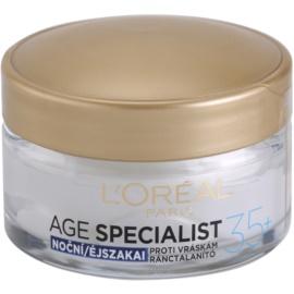 L'Oréal Paris Age Specialist 35+ noční krém proti vráskám  50 ml