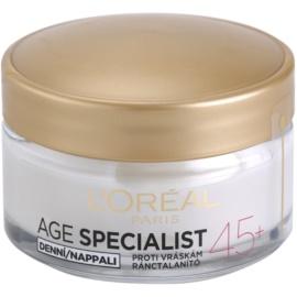 L'Oréal Paris Age Specialist 45+ дневен крем  против бръчки  50 мл.