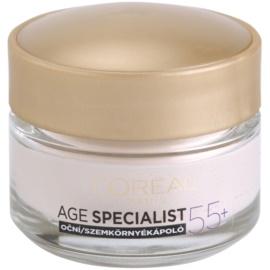 L'Oréal Paris Age Specialist 55+ крем для шкіри навколо очей проти зморшок   15 мл