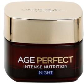 L'Oréal Paris Age Perfect nočna revitalizacijska obnovitvena krema za zrelo kožo  50 ml