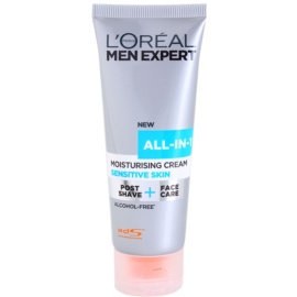 L'Oréal Paris Men Expert All-in-1 Post Shave + Face Care Moisturizing Cream For Sensitive Skin Alcohol Free 75 ml
