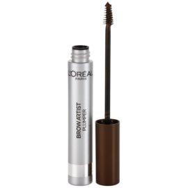 L'Oréal Paris Brow Artist Plumper Gel Mascara voor Wenkbrauwen Tint  Medium/Dark 7 ml