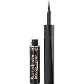 L'Oréal Paris Super Liner Black Lacquer voděodolné oční linky odstín Black 6 ml