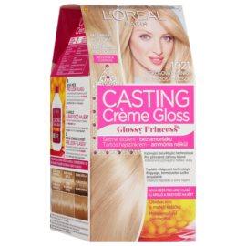 L'Oréal Paris Casting Creme Gloss farba na vlasy odtieň 1021 Coconut Kiss