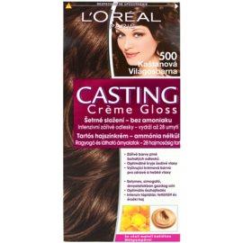 L'Oréal Paris Casting Creme Gloss farba do włosów odcień 500 Maroon