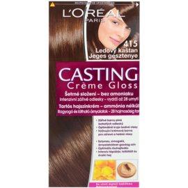 L'Oréal Paris Casting Creme Gloss farba na vlasy odtieň 415 Iced Chocolate