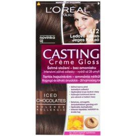 L'Oréal Paris Casting Creme Gloss coloração de cabelo tom 412 Iced Cocoa