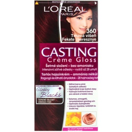 L'Oréal Paris Casting Creme Gloss barva na vlasy odstín 360 Black Cherry