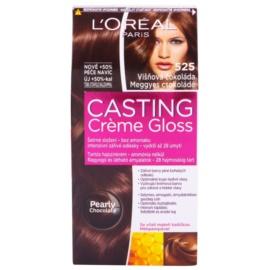 L'Oréal Paris Casting Creme Gloss barva na vlasy odstín 525 Black Cherry Chocolate