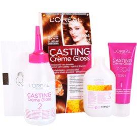 L'Oréal Paris Casting Creme Gloss coloração de cabelo tom 7304 Cinnamon