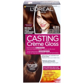 L'Oréal Paris Casting Creme Gloss farba do włosów odcień 635 Chocolate Candy