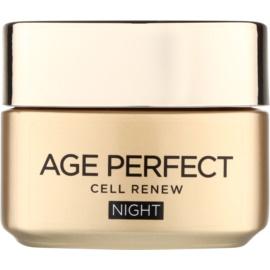 L'Oréal Paris Age Perfect Cell Renew Nachtcreme für die Erneuerung der Hautzellen  50 ml