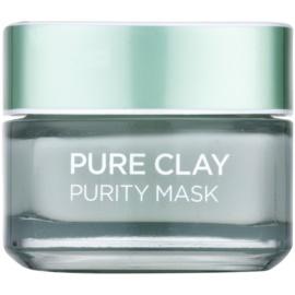 L'Oréal Paris Pure Clay čistiaca zmatňujúca maska  50 ml