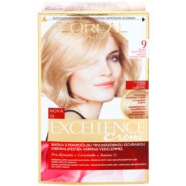 L'Oréal Paris Excellence Creme farba do włosów odcień 9 Light Natural Blonde
