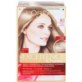 L'Oréal Paris Excellence Creme farba do włosów odcień 8,1 Ash Blonde