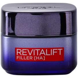 L'Oréal Paris Revitalift Filler crema de noche efecto relleno antienvejecimiento  50 ml