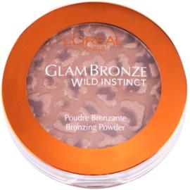 L'Oréal Paris Glam Bronze Bronzing бронзираща пудра цвят 303 Dark  7,5 гр.