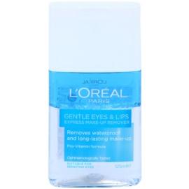 L'Oréal Paris Gentle засіб для зняття макіяжу з очей та губ для чутливої шкіри  125 мл