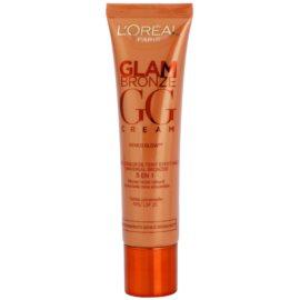 L'Oréal Paris Glam Bronze GG Cream bronzující krém na obličej 5 v 1 odstín Universelle (SPF 25) 30 ml