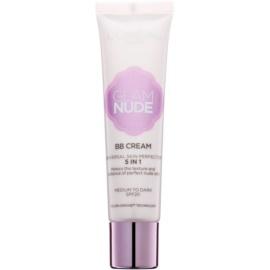 L'Oréal Paris Glam Nude BB krema 5 v 1 SPF 20 odtenek Medium to Dark 30 ml