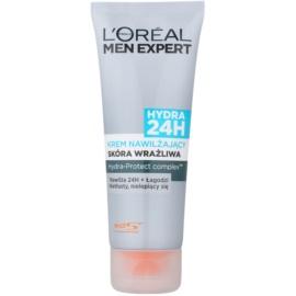 L'Oréal Paris Men Expert Hydra 24H Feuchtigkeitscreme für empfindliche Haut  75 ml