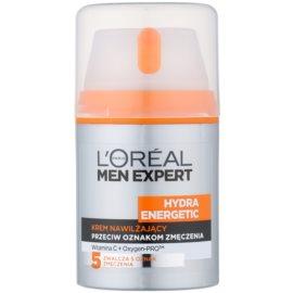 L'Oréal Paris Men Expert Hydra Energetic hydratační krém proti známkám únavy s vitaminem C  50 ml