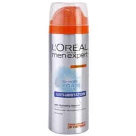L'Oréal Paris Men Expert Anti-Irritation pena na holenie pre citlivú pleť  200 ml