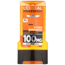L'Oréal Paris Men Expert Hydra Energetic gel de banho estimulador  300 ml
