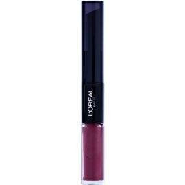 L'Oréal Paris Infallible hosszan tartó rúzs és ajakfény 2 az 1-ben árnyalat 209 Violet Parfait 5 ml