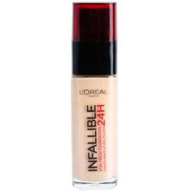 L'Oréal Paris Infallible dlouhotrvající tekutý make-up odstín 125 Natural Rose  30 ml