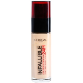 L'Oréal Paris Infallible maquillaje fluido de larga duración  tono 125 Natural Rose  30 ml