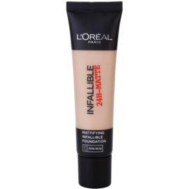 L'Oréal Paris Infallible machiaj cu efect matifiant culoare 13 Rose Beige 35 ml
