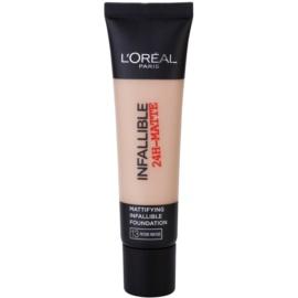 L'Oréal Paris Infallible maquillaje matificante tono 13 Rose Beige 35 ml