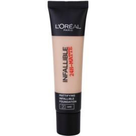 L'Oréal Paris Infallible mattító make-up árnyalat 20 Sand 35 ml