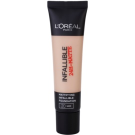 L'Oréal Paris Infallible maquillaje matificante tono 20 Sand 35 ml