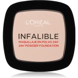 L'Oréal Paris Infallible fixační pudr odstín 123 Warm Vanilla 9 g