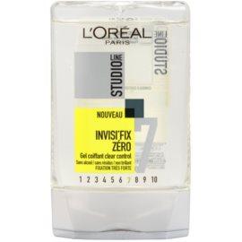 L'Oréal Paris Studio Line Invisi Fix Zero гель для волосся сильної фіксації  300 мл