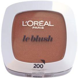 L'Oréal Paris Le Blush tvářenka odstín 200 Golden Amber 5 g