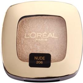 L'Oréal Paris Color Riche L'Ombre Pure тіні для повік відтінок 206 little Beige Dress Nude