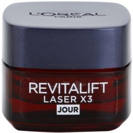 L'Oréal Paris Revitalift Laser X3 дневен крем  против стареене на кожата  15 мл.