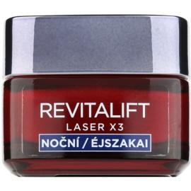 L'Oréal Paris Revitalift Laser X3 noční regenerační krém proti stárnutí pleti  50 ml