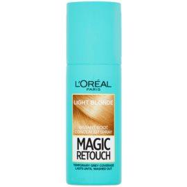 L'Oréal Paris Magic Retouch sprej pro okamžité zakrytí odrostů odstín Light Blonde 75 ml