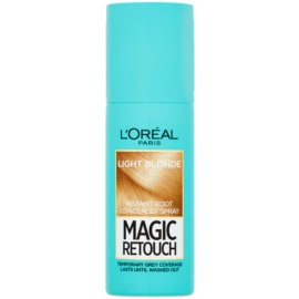 L'Oréal Paris Magic Retouch Spray zum sofortigen Kaschieren der Farbunterschiede durch nachwachsende Haare Farbton Light Blonde 75 ml